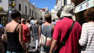 アキーラさん散策⑥モロッコ・タンジェ市・旧市街(メディナ)!Old city(MEDINA) in Tanger in Morocco!