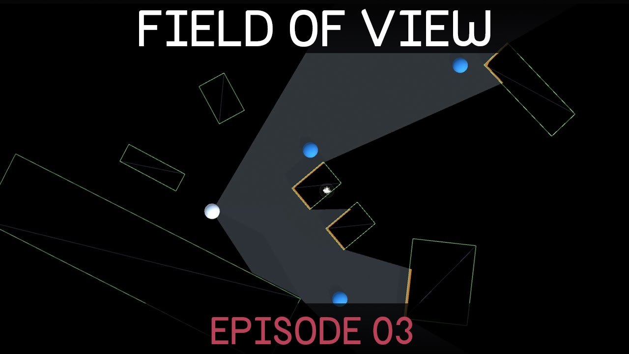 Field of view visualisation (E03: stencil shader)