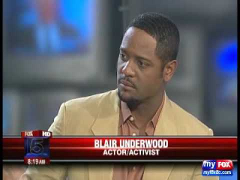 Interview on new AIDS Healthcare Foundation Blair Underwood Healthcare Center (9/24/09)