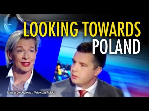 "Katie Hopkins talks to ""the Tucker Carlson of Poland"""
