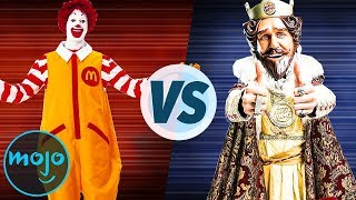 McDonald's vs. Burger King Which One is Better