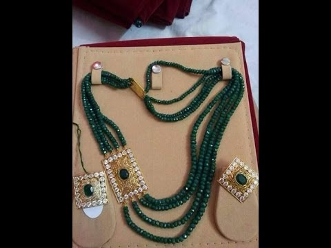 Latest south indian beads Necklace designs!!!!!!!
