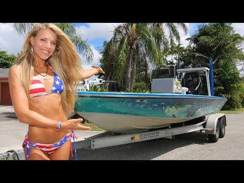 FIRST LOOK...Customized 60mph Flats Boat Update!