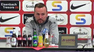 löwen.tv • Pressekonferenz KSV Hessen - Stuttgarter Kickers - 31.03.2018