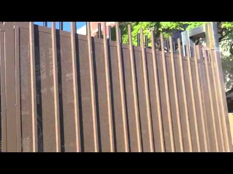 Commercial Gates & Fencing Project, Sunset Blvd., Los Angeles