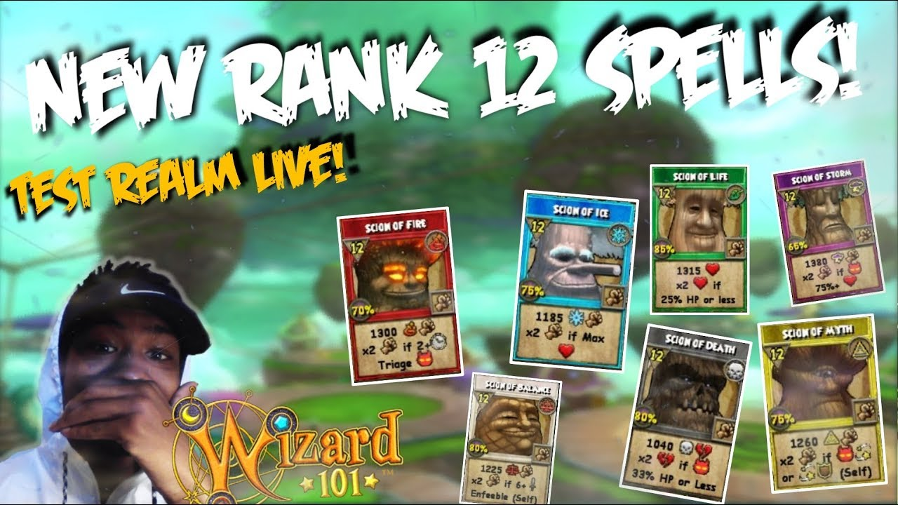 Wizard101: TEST REALM IS HERE! (NEW LVL 128 SPELLS, PVP, GEAR, AND UPDATES!)