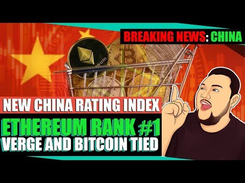 China Ethereum Breaking News: Number 1 Crypto in New Ratings Index