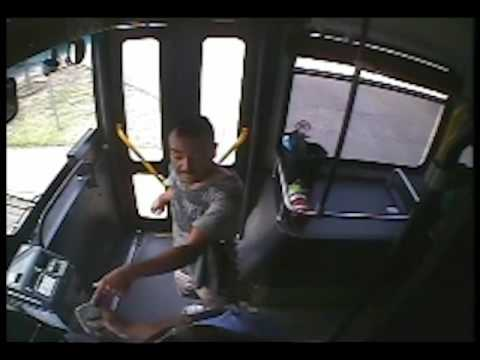 (Warning: Graphic) Surveillance Footage Shows Man Fatally Shot by Police on Oklahoma Bus
