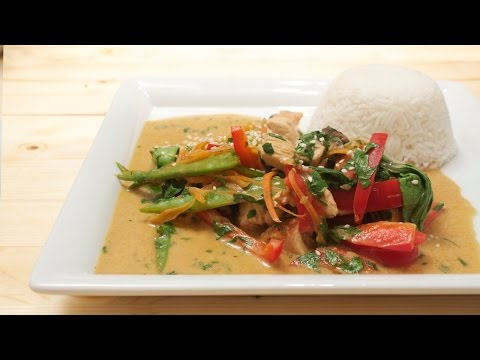 Putengeschnetzeltes mit Gemüse und Reis mit Chefkoch Rezept von Thomas Sixt perfekt selber kochen