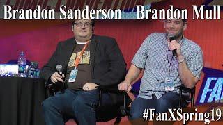 Brandon Sanderson and Brandon Mull - Full Panel/Q&A - FanX Spring 2019