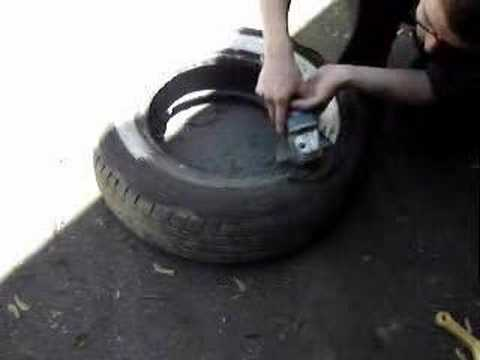 Make Your Own Wide White Wall Tires Youtube