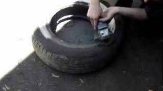 Make your own Wide White Wall tires