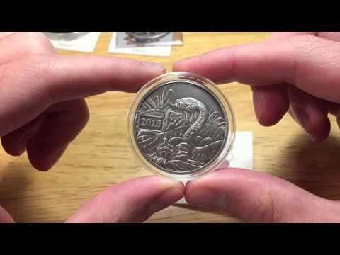 Antique Finish Silver Bullion Coins: Gabon, Ghana, Tokelau