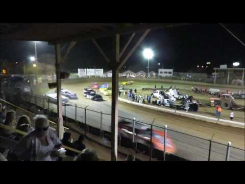 Belle-Clair Speedway 7-28-2017 Late Model Heat #1 Feature and Special Feature