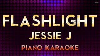 Jessie J - Flashlight | Higher Key Piano Karaoke Instrumental Lyrics Cover Sing Along