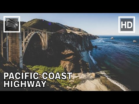 Driving from Dana Point to Monterey PCH 1