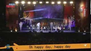 藝人大合唱詩歌 - Happy Day (2013林書豪青少年之夜)
