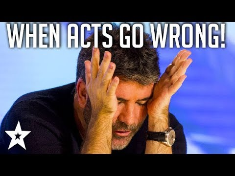 Britain's Got Talent Auditions That Went Horribly Wrong | Got Talent Global