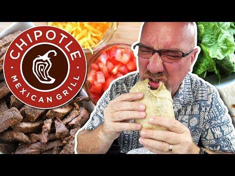 Chipotle 🌯 Carne Asada Burrito (Chosen by You!)