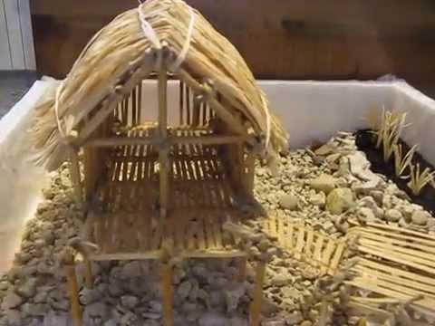 Palafitta neolitica youtube - Come costruire una casa in miniatura ...