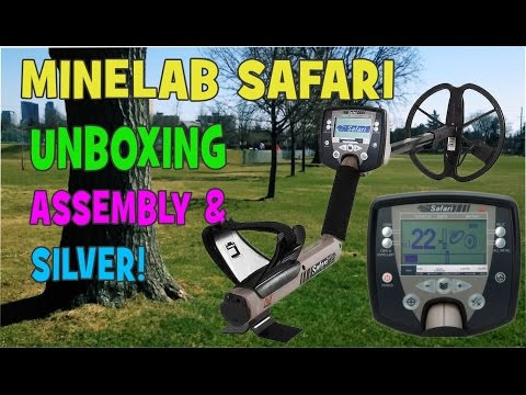 Minelab Safari - Unboxing, Assembly And Finding Silver!