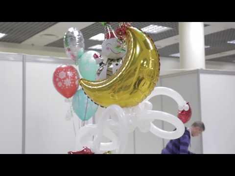 Искусство Аэродизайна. Урок № 11. Сердца из воздушных шаров в технике пластика