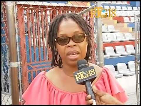 Haiti / Sport.- Entraînement du Don Bosco de Pétionville