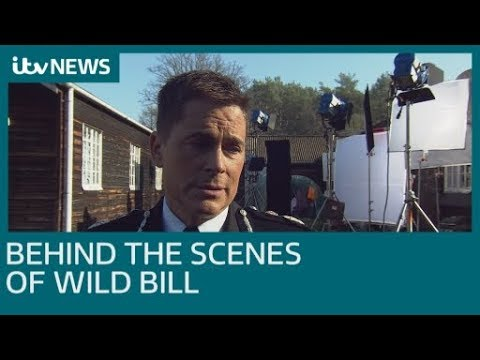 Behind the scenes of ITV's new drama Wild Bill starring Rob Lowe | ITV News