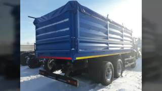 КАМАЗ зерновоз с прицепом новый