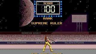 Alien Storm Sega Genesis. The duel TAS. Supreme ruler