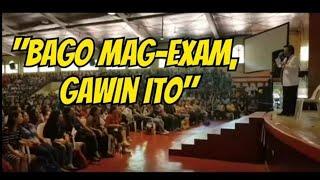 Bago Mag Exam, Gawin Ito Para Pumasa - Payo ni Doc Willie Ong #686
