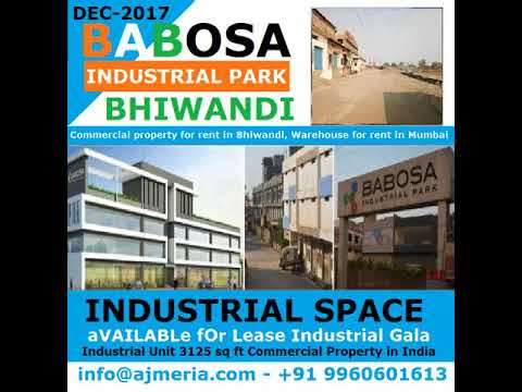 Commercial property for rent in Bhiwandi, Warehouse for rent in Mumbai Lease Industrial Gala