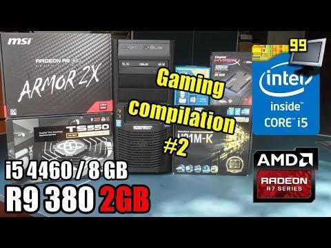 17 Games On I5 4460 - R9 380 2GB - 8GB (BF1, COD:WW2, WD2, PC2,  \u0026 More)
