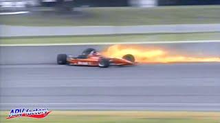 Emerson Fittipaldi Big Crash 1996 CART Michigan 500