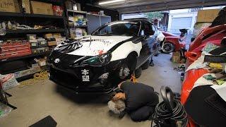 Rallybacker Test Fit / Back Alley ZN6 Meet