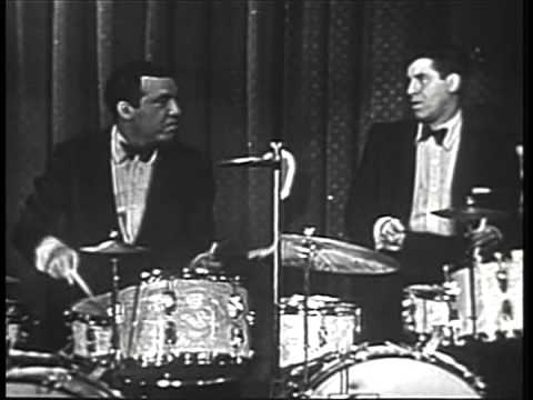 Jerry Lewis vs Buddy Rich - Let There Be Drums