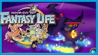 Fantasy Life Post Game part 2 Shadow Dragon Gameplay Walkthrough w/ Voltsy