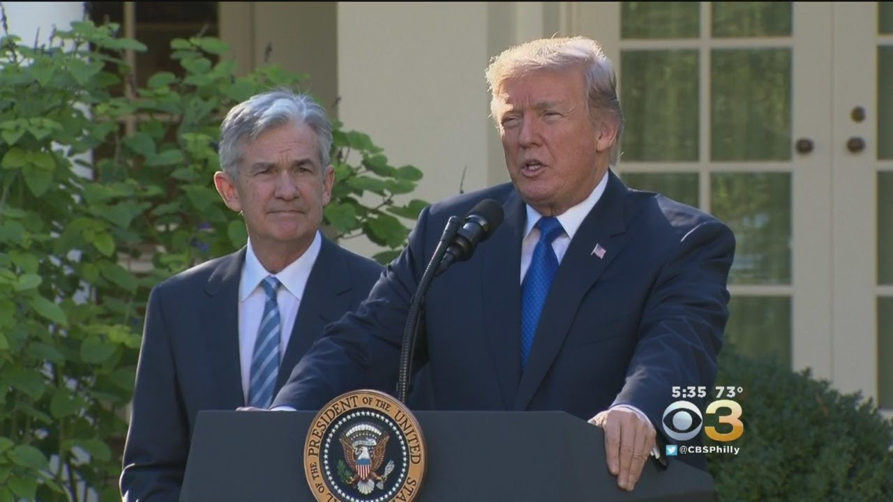 Trump Taps Jerome Powell As Next Fed Chair In Call For Continuity