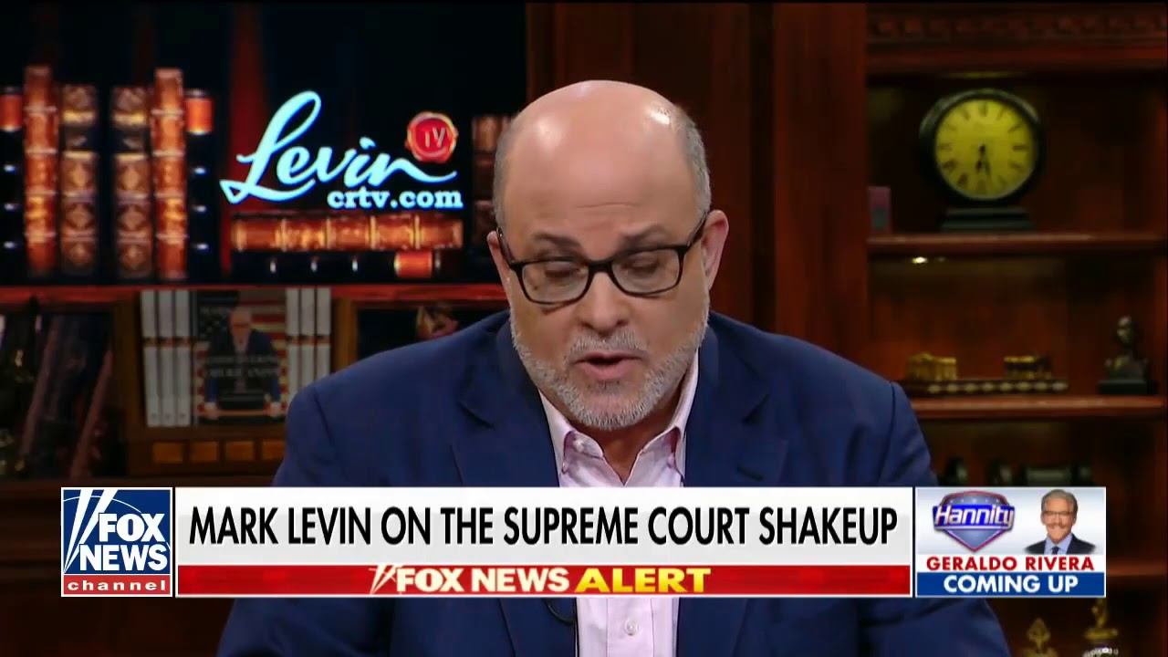 USA News Today| Levin said: Left's agenda is incompatible with constitutionalism