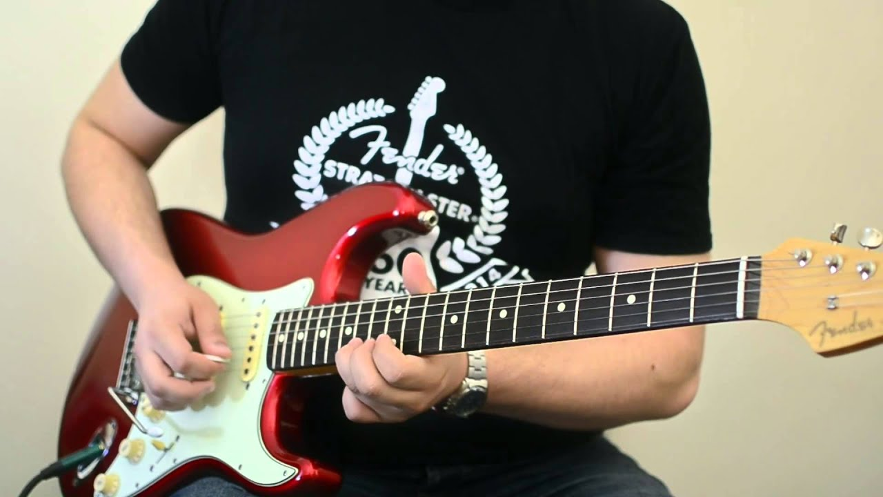 Fender Strat And A Blues Junior Youtube