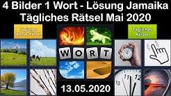 4 Bilder 1 Wort - Jamaika - 13.05.2020 - Mai 2020 Tägliches Rätsel + Tägliches Bonus Rätsel