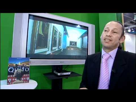 Quito, Ecuador at the World Travel Market London Exposure TV