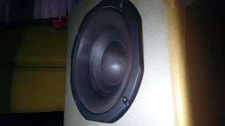 Extreme Slow Motion Subwoofer Excursion 8 inch Home Audio