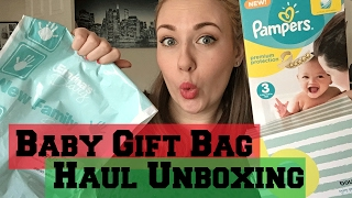 Free Baby Packs Haul Unboxing 2017 !! Bounty Pack - Emma