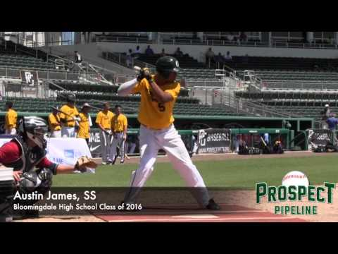 Austin James Prospect Video, SS, Bloomingdale High School Class of 2016