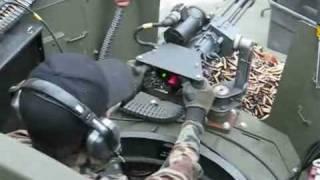 Minigun target shooting from tank Full Automatic Rangers
