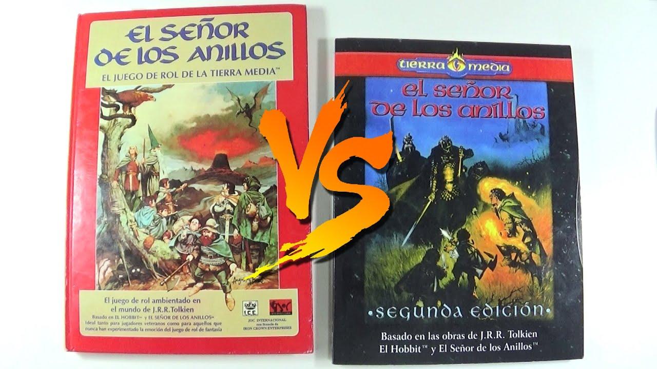 Rol del Señor de los Anillos, Cual Jugar (1) | MERP 1ª Edición vs 2ª  Edición | Tierras de Rol - YouTube