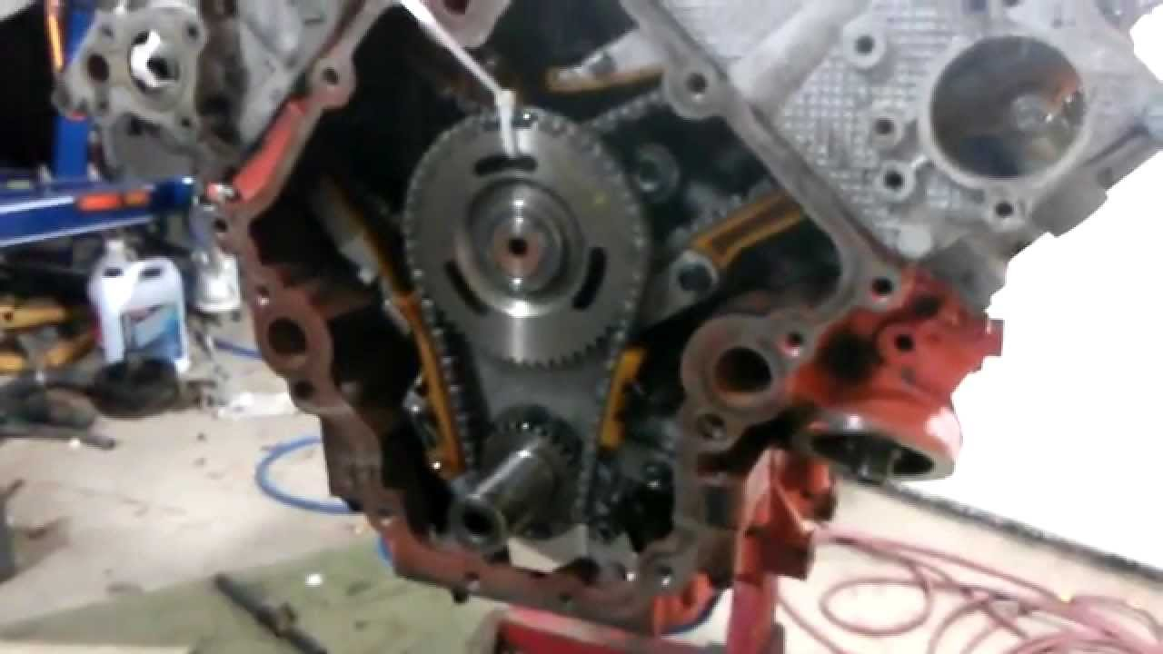 4 7 rebuild valve timing and timing chain dodge jeep rh youtube com