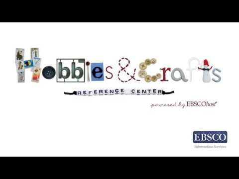 Hobbies & Crafts Reference Center – Tutorial