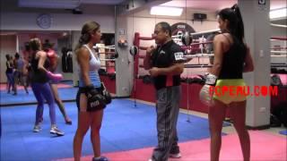 Clases de Boxeo para principiantes – Escuela de Boxeo: Esquive de jab y doble gancho (izq y der)